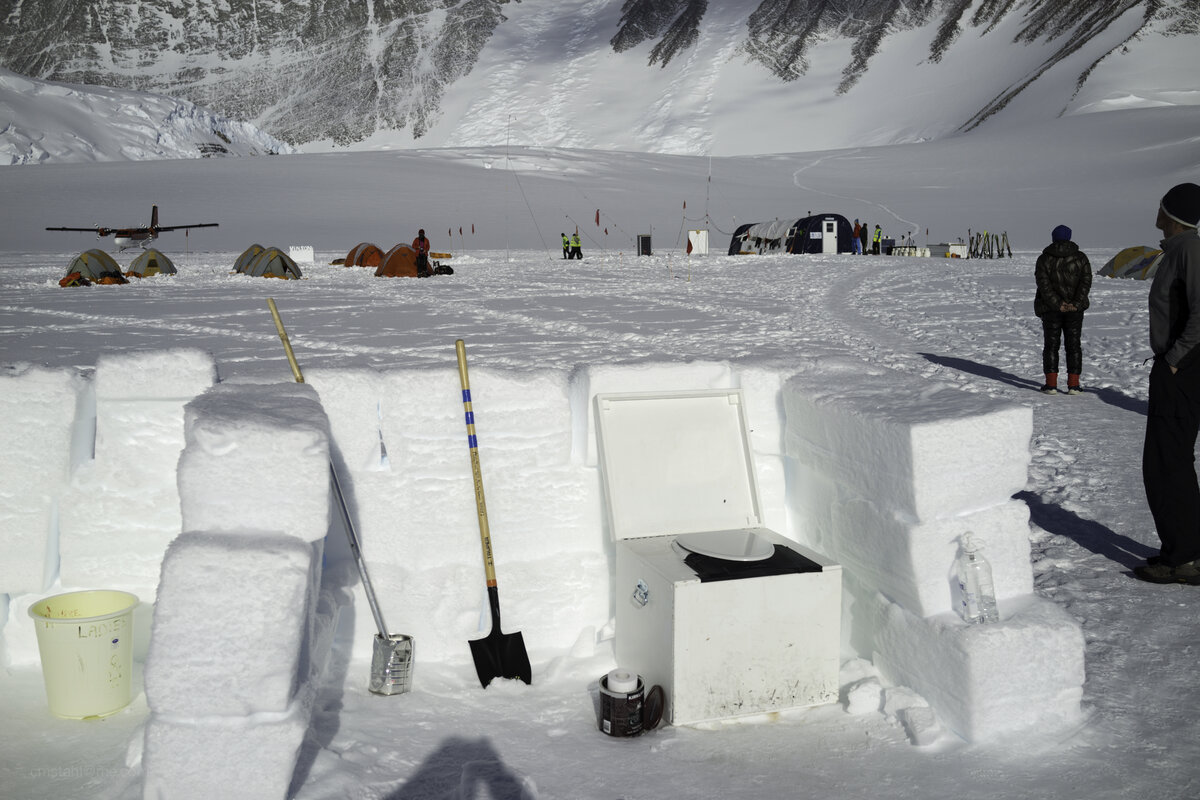 Solid human waste is removed from Mount Vinson