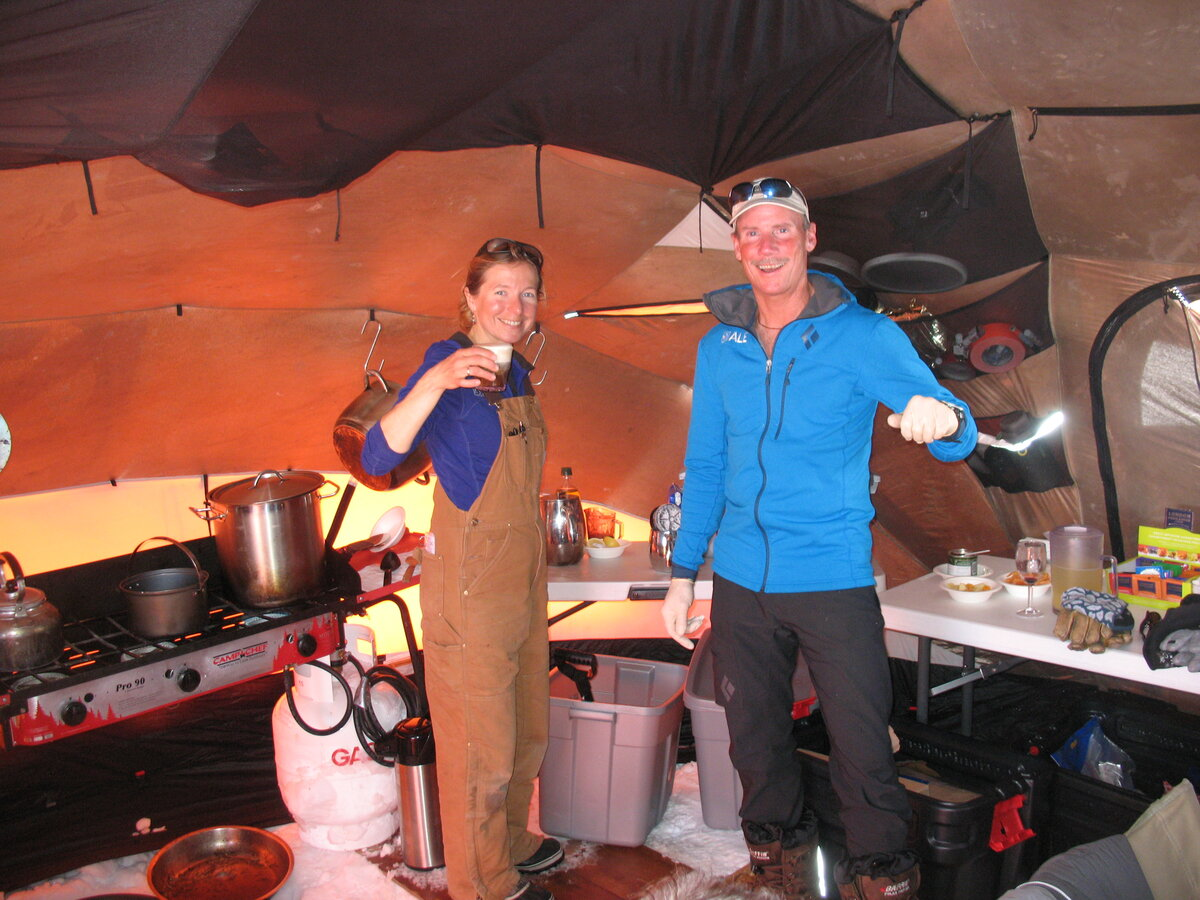 Field Camp kitchen/dining tent
