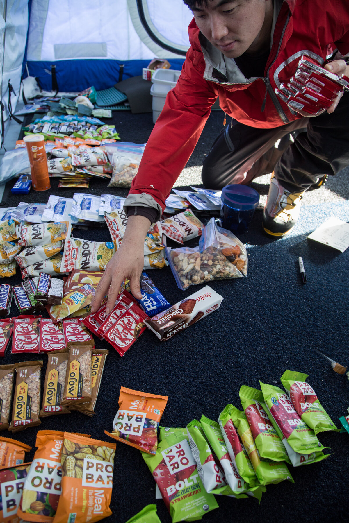 Last Degree guest organizes expedition food
