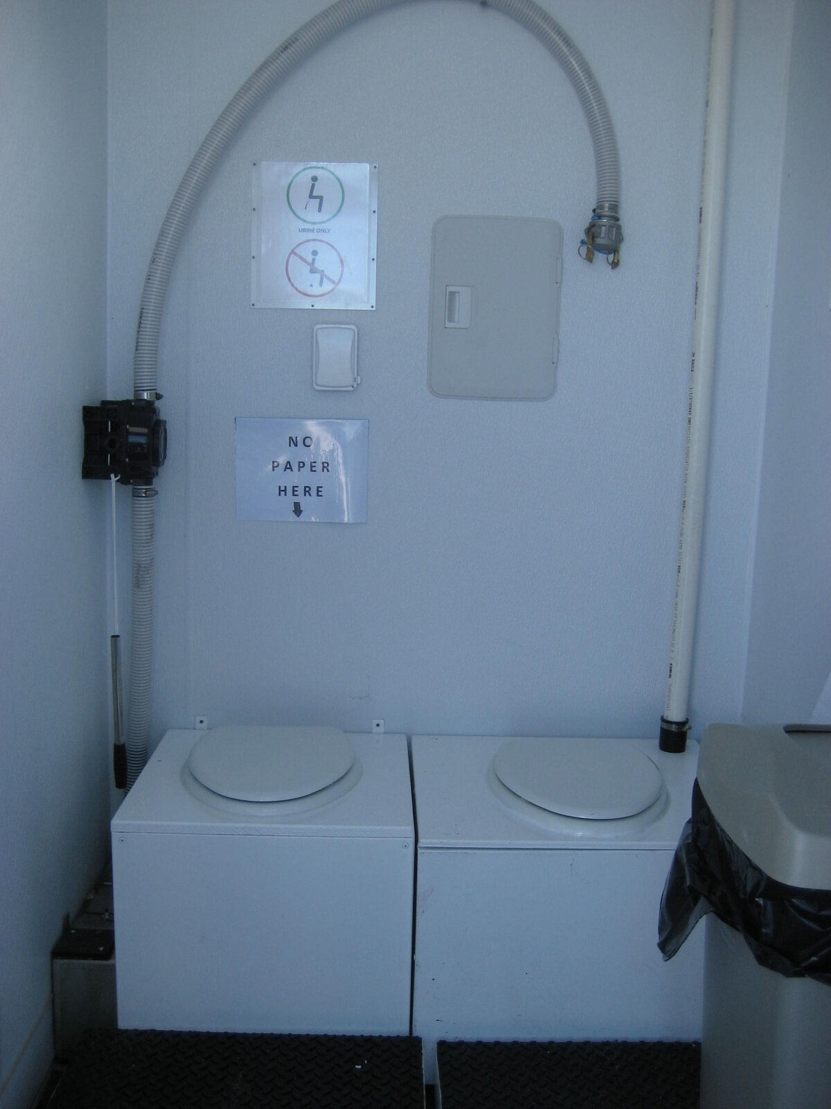Women's toilet interior