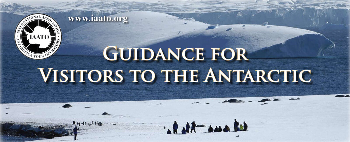 Guests follow Antarctic Treaty Visitor Guidelines