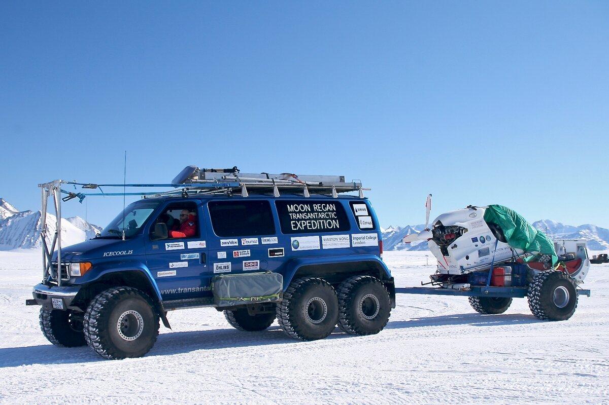 Moon-Regan Transantarctic Expedition van