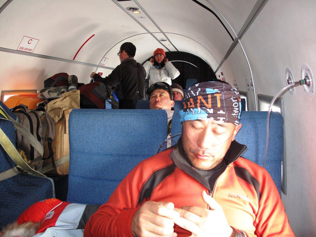 Supplemental oxygen onboard Basler aircraft