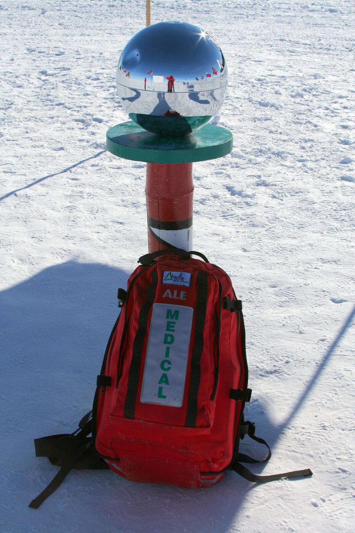 ALE medic accompanies all South Pole flights