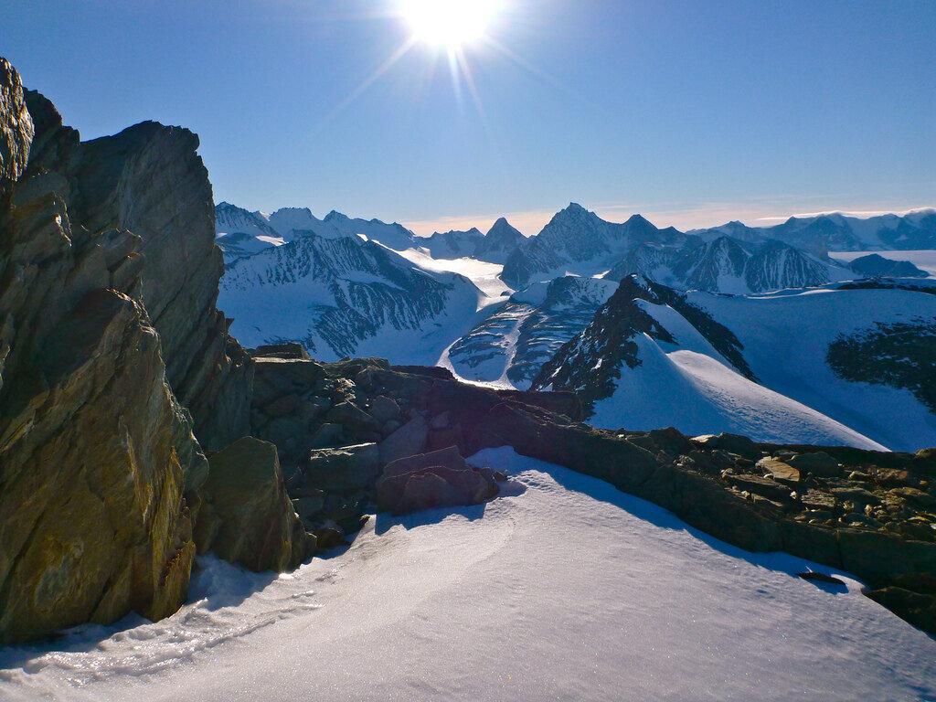 Union Glacier Peaks